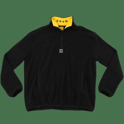 WKND - Greenwich Fleece - Black/Yellow