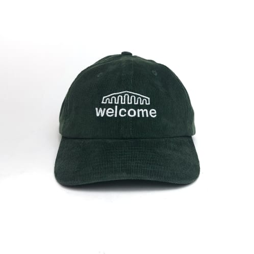 Welcome Skate Store - Arch Cord Cap - Forest