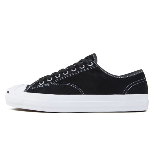 Converse Jack Purcell Pro OX Shoes - Black/Black/Black/White