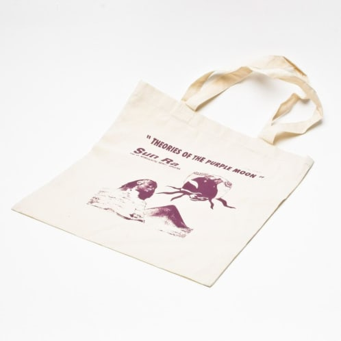 Theories Purple Moon Tote Bag