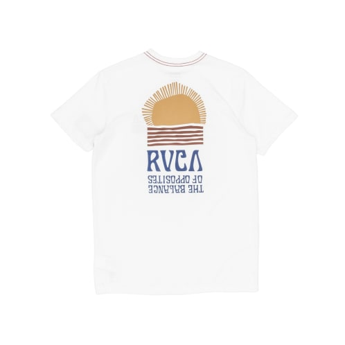 RVCA Daybreak T-Shirt - Antique White