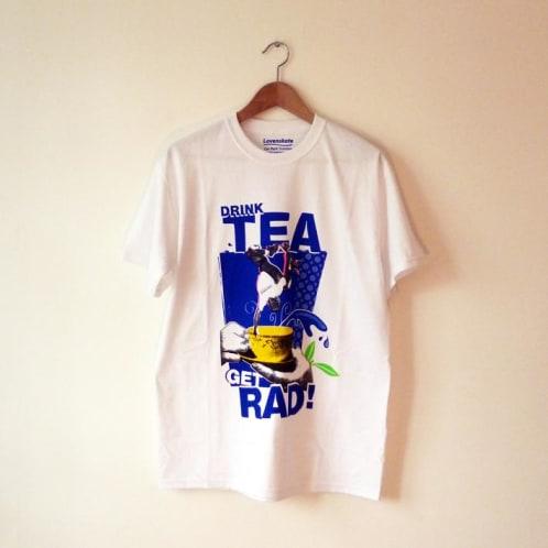 Lovenskate Drink Tea Get Rad