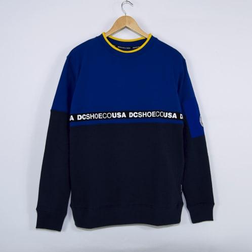DC Shoes - Simmons Crewneck Sweatshirt - Nautical Blue