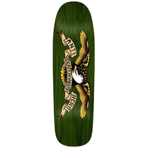 Anti Hero - Overspray Green Giant Deck - 9.56""