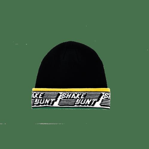 Shake Junt Speed Beanie - Black/Yellow/Green