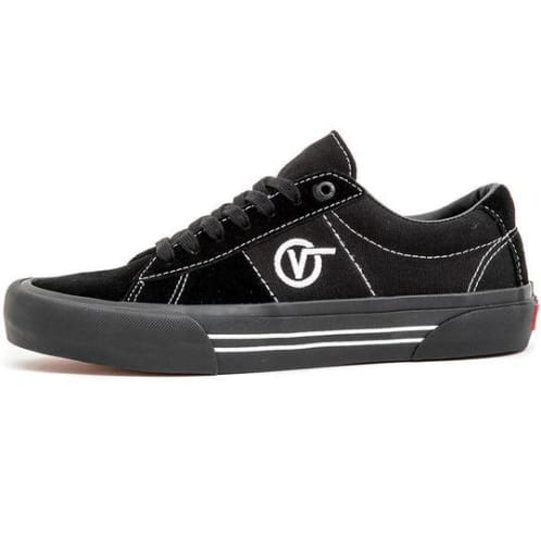 Vans - Saddle Sid Pro Shoes - Black / Black / White