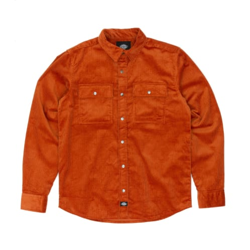 Dickies Ivel Over Shirt - Rust