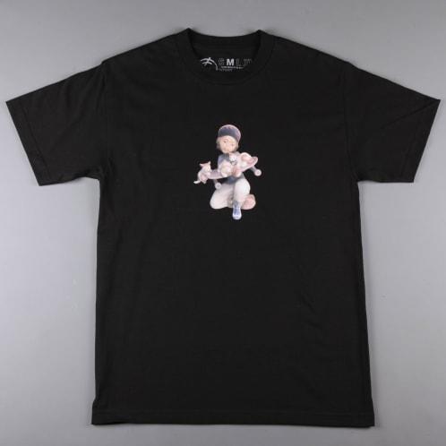 CSC 'Pussy & Skateboarding' T-Shirt (Black)