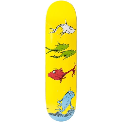 "Almost Skateboards - 8.25"" Yuri Facchini Dr. Seuss Deck"