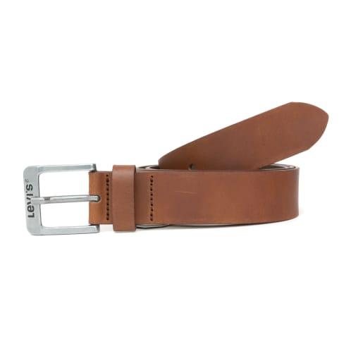 Levis New Duncan Leather Belt - Brown