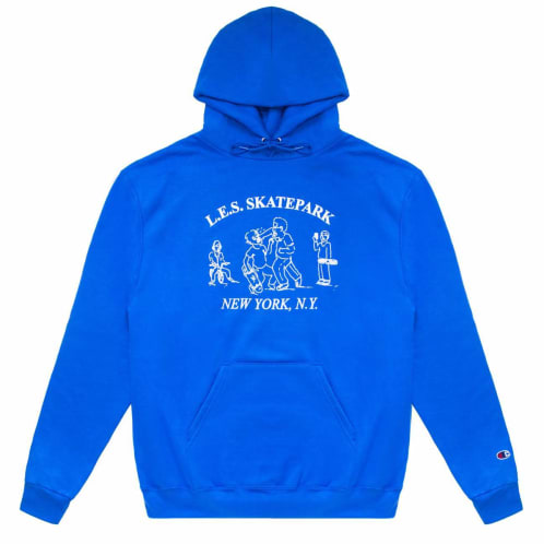 Quartersnacks LES Skatepark Hood Royal