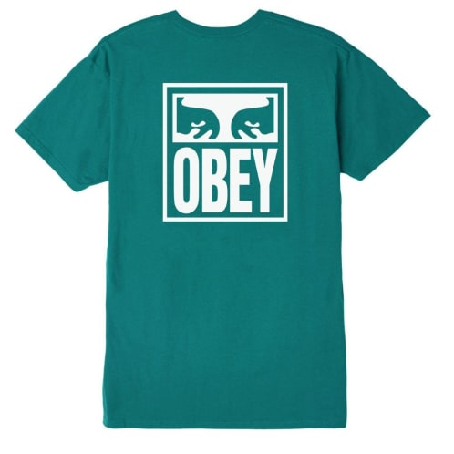 Obey Eyes Icon - Teal