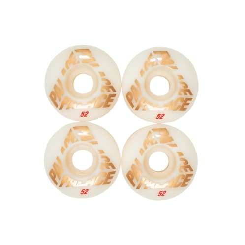 Palace Skateboards Team Wheels 52mm - White