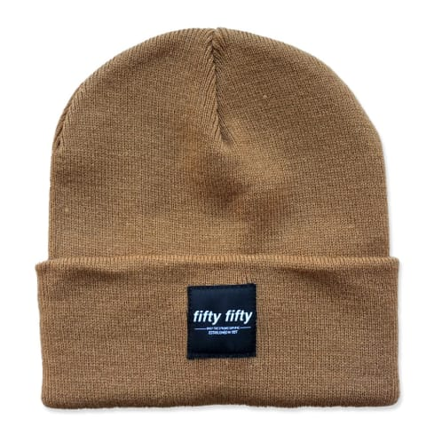 Fifty Fifty Trademark Beanie Caramel Brown