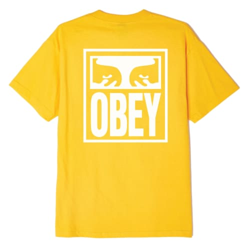 Obey Eyes Icon - Gold