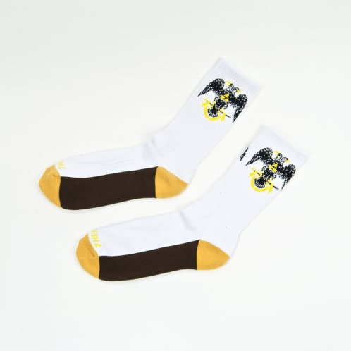 Theories Of Atlantis - 33rd Degrees Socks - White