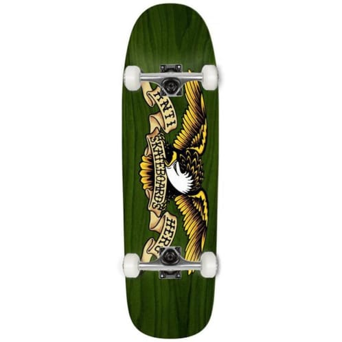 Anti Hero - Shaped Eagle - Green Giant Complete skateboard - 9.56""