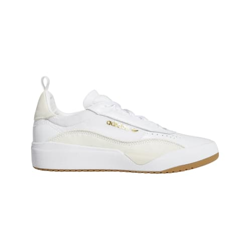 adidas Liberty Cup Skateboarding Shoe - Cloud White/Gold Metallic/Gum