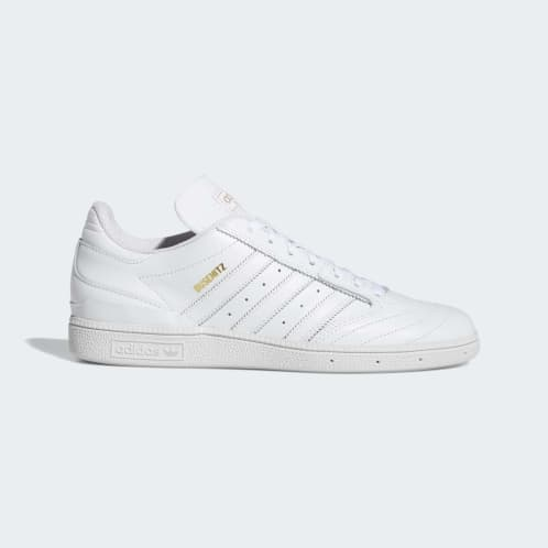 Adidas Busenitz Shoes - Cloud White/Gold Metallic/Cloud White