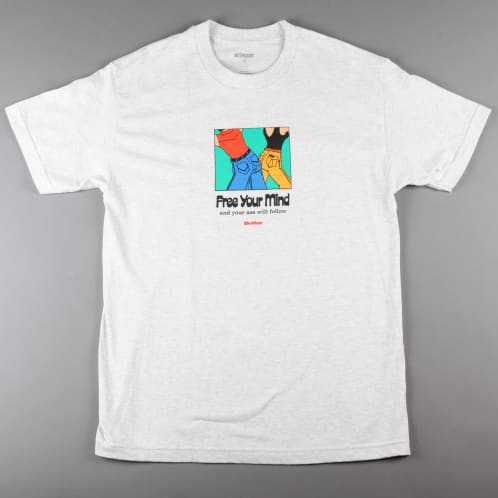 Butter 'Free Your Mind' T-Shirt (Ash Grey)