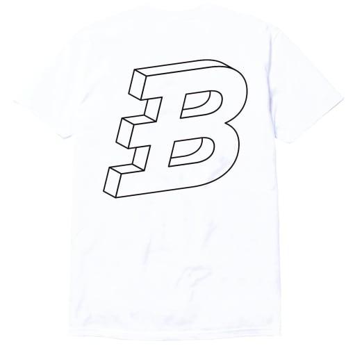 Brixton's Baddest series III white tee