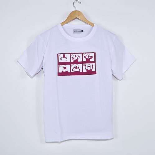 Blobys Paris - Dourag T-Shirt - White