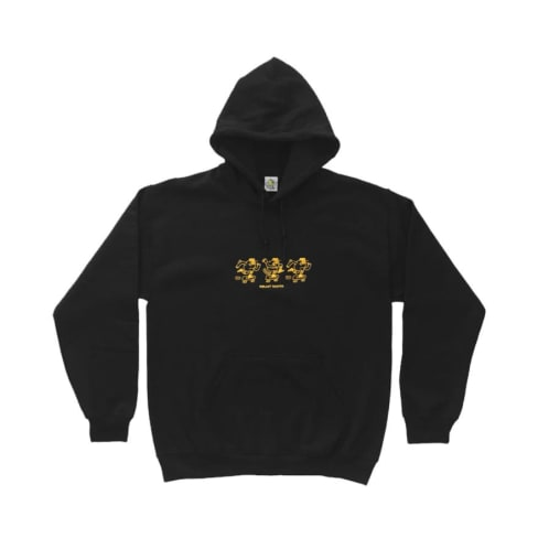 Ragin Mascot Embroidery Hoody