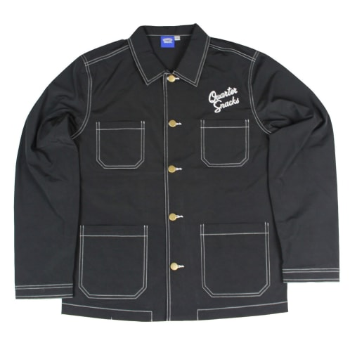 Quartersnacks Nylon Chore Jacket Black