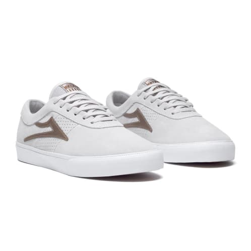 Lakai Sheffield white/bronze suede