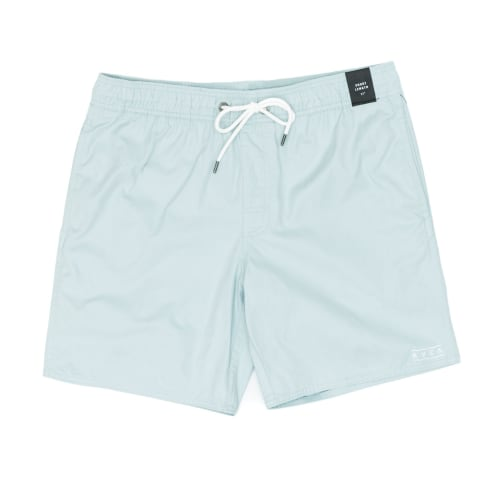 RVCA Gerrard Elastic Trunk Shorts - Blue Haze