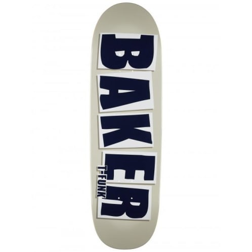 Baker Skateboards T-Funk Brand Name Shaped Skateboard Deck - 9.25
