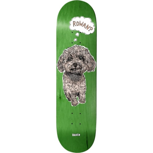 Baker Skateboards Rowan Zorilla Animals Skateboard Deck - 8.00