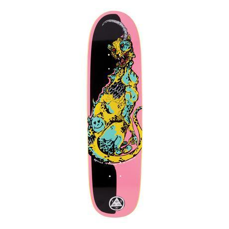 """Welcome Skateboards - 8.5"""" Cheetah on Sylphstick - Pink / Black"""