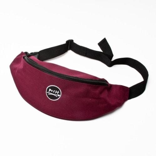 Push Periodical Hip Bag Burgundy
