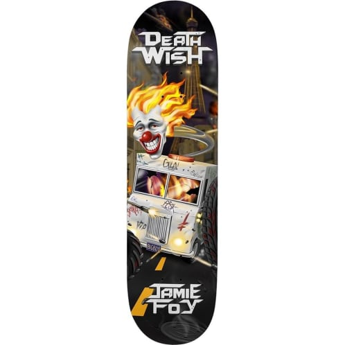 Deathwish Skateboards Jamie Foy Metal Mayhem Deck - 8.25