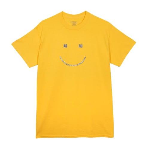 Baker Skateboards Smiley T-Shirt - Yellow