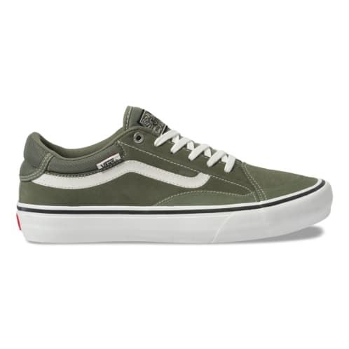 Vans TNT Advanced Prototype Skateboard Shoe - Green/Marshmallow