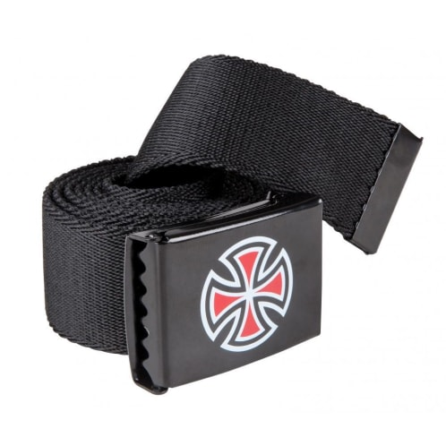 Independent - Bar Cross Web Belt - Black