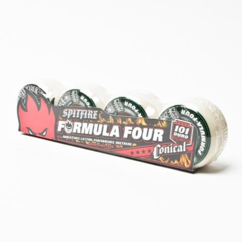 SPITFIRE FORMULA FOUR CONICAL 101A 53MM (White)