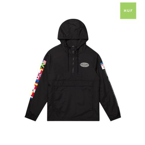HUF World Tour Anorak