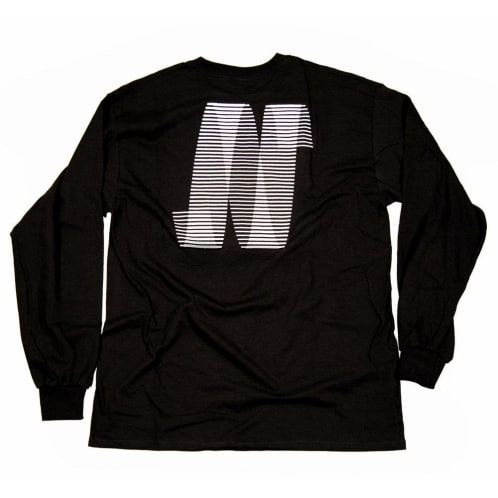North N Logo Long Sleeve T-shirt - Black/White