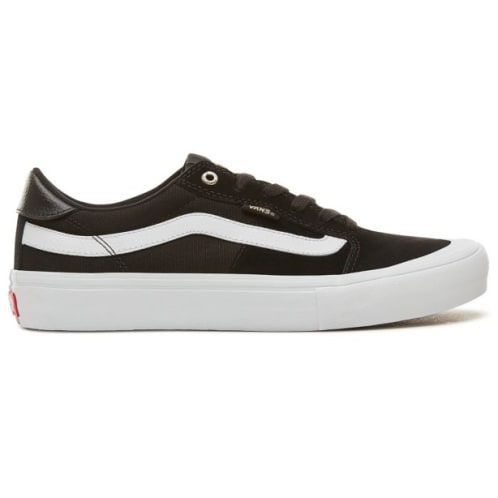 Vans 112 Low Pro Shoes Black/White/Khaki