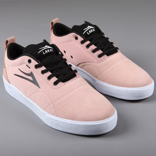 Lakai 'Bristol' Skate Shoes (Rose Suede)