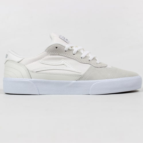 Lakai Cambridge Shoe White Suede