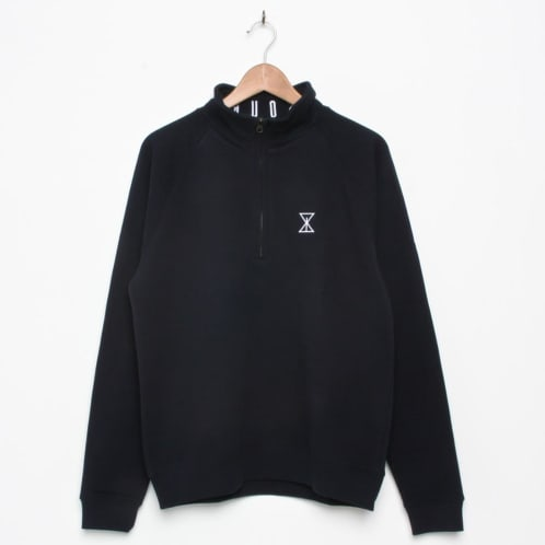 Sour Solution 1/4 Zip Fleece Navy