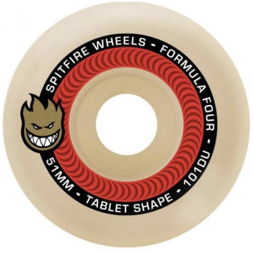Spitfire Formula Four Wheels Tablet 54MM