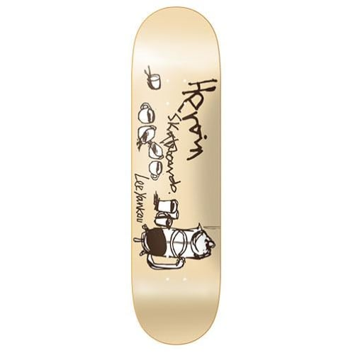 "Heroin Skateboards - 8.25"" Lee Yankou Heritage Deck"
