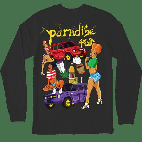Paradise - Paradise 4 Eva Longsleeve T-Shirt - Black