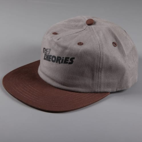 Theories 'Overlook' Snapback (Grey / Dark Brown)