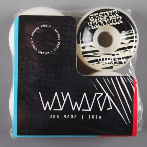 Wayward 'Casper Brooker Pro' 53mm 101a Wheels